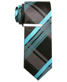 Alfani RED Tie, Cabezas Grid Skinny Tie with Tie Bar - Mens Ties - Macy's  Pinterest Marketing Tips  mkssocialmediamarketing.mkshosting.com