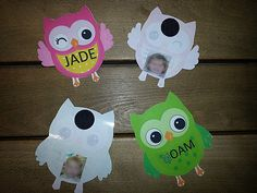Ecole Owl Classroom, Classroom Organization, Owl Templates, Paper Owls, Owl Crafts, Paper Trail, Early Childhood Education, First Day Of School, Christmas Ornaments