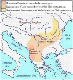 Walachia after them. The earliest records of their presence in Transylvania do not precede the century c.e, when Romanians were offered asylum by the Hungarian Kingdom after the Turks seized Walachia The Turk, 1st Century, Historical Maps, Macedonia, The Expanse, Geography, The Originals, History, Asylum