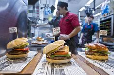 """The fast food company has rebranded a Sydney-based McCafe as """"The Corner""""   where it will be serving fresh, experimental dishes"""