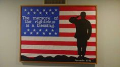 Memorial Day / Patriotic church bulletin board