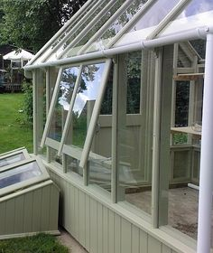 Wooden Greenhouse