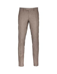 "Men's slim-fit trousers in linen structure. Featuring low rise and slim legs. </br></br>For a complete suit look wear it with <a href=""http://tigerofsweden.com/se/blazers/lamonte-4-blazer-T61266014.html"" style=""font-weight:bold; text-decoration: underline;"" target=""_blank"">Lamonte blazer</a>"