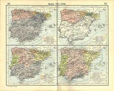 Catorce mapas que te explican de un vistazo la Historia de España   TIC & Educación   Scoop.it