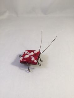 A personal favorite from my Etsy shop https://www.etsy.com/listing/246220423/rufus-the-love-bug