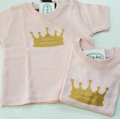 #babyshirt kroontje van www.bepenco.com