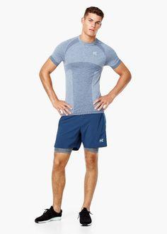 Camiseta técnica manga corta running | MANGO MAN ADIDAS Men's Shoes Running - http://amzn.to/2hw3Mi7