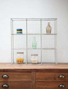 Bring your storage up-to-date for the new season with this handy wire pigeon hole unit