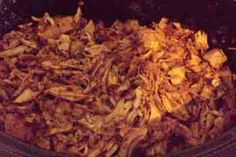 Crockpot Tuesday–Seasoned Pulled Pork (low carb and kid versions) -- There are so many things to like about this recipe. They suggest pork chops, but I'm thinking we could sub in a pork tenderloin; seared on the grill 1st.     Similarly, real onions & garlic in the crockpot rather than granulated &/or flakes on the rub.      But what I really, really like about this recipe is how it calls for an orange to sweeten the deal. That's something I won't change as it sounds both smart, healthy & tasty.