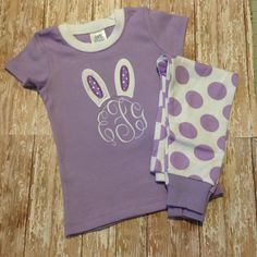 Personalized Easter Pajamas