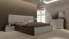 Dolce Modern Yatak Odası Takımı 2012 Yılının En Gözde Tasarımlı Ürünlerinden Biridir. Ürünün Dolap Kapakları ve Çekmece Kapakları Stopludur.