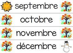 Maanden in het Frans (http://dagmeester.wordpress.com/2014/09/29/maanden-in-het-frans)