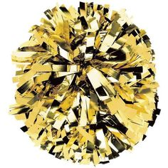 See your team color shine in these custom metallic cheerleading pom poms. Customize your one-color metallic cheer pom poms at the lowest price guaranteed.