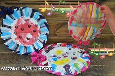 Assiettes maracas!! |     Un instrument à fabriquer avec les enfants