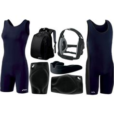 """Wrestling Uniform"" by eappah on Polyvore"