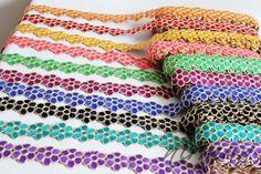 Wedding trim Floral Cut work Trim Craft Lace by NirmanSupplies