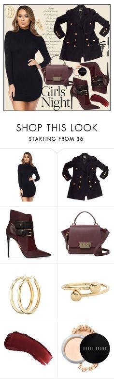"""Bez naslova #255"" by sabina-mehic123 ❤ liked on Polyvore featuring Chanel, Balmain, ZAC Zac Posen, Charlotte Russe, J.W. Anderson, lilah b. and Bobbi Brown Cosmetics"