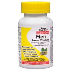 Super Nutrition SimplyOne Men Multivitamin-Mineral Dietary Supplement Tablets 30 ea - https://www.dietingstore.com/super-nutrition-simplyone-men-multivitamin-mineral-dietary-supplement-tablets-30-ea/ $ 26.99 Vitamins  Dietary Supplements Product Features High Energy, Heart Healthy, Multi-Vitamin, Multi-Mineral Enriched with Organic Herbs  Greenfoods. Gluten Yeast Free Vegetarian, Hypoallergenic, Gluten Free These tablets are food-based for fast, easy..