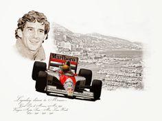 Ayrton Senna - GP Monaco 1990