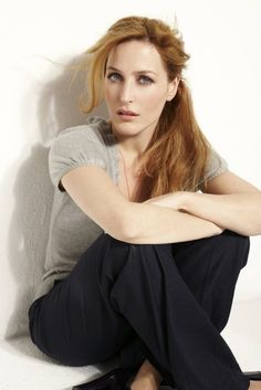 Gillian Anderson She is one of a kind.