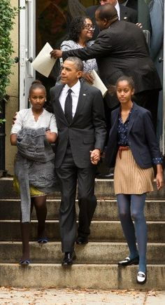 The President and His Girls