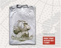 Vespa Anno 1946 T-Shirt - DoubleGood