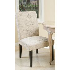 Toulusse French Script Fabric Dining Chairs (Set of 2) (Set of 2)  sc 1 st  Pinterest & Christopher Knight Home French Script Fabric Dining Chairs (Set of 2 ...