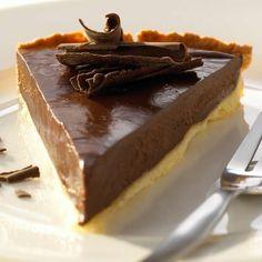 Feine Schokoladen-Tarte