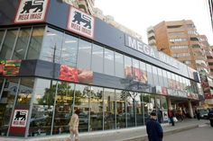 Mega Image takes over five Gulliver stores in Romania's capital Bucharest Romania, Beautiful Landscapes, Times Square, Asdf, Store, Outdoor Decor, Travel, Logo, News