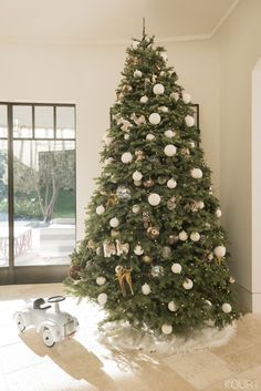 See How I Decorate My Christmas Trees at Home - Kourtney Kardashian Official Site