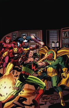 Avengers by Jack Kirby
