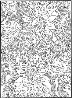 Paisley Design Coloring Books Make your world more colorful with free printable coloring pages from italks. Our free coloring pages for adults and kids. Adult Coloring Pages, Colouring Pages, Printable Coloring Pages, Free Coloring, Coloring Sheets, Coloring Books, Mandala Coloring, Fairy Coloring, Mandalas Drawing