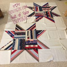 More Quilt of Valor Inspirations!