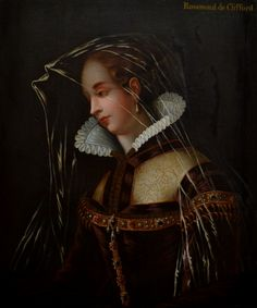 My painting. Subject either Fair Rosamond or Jane Shore. Top RHS says Rosamond de Clifford but this may have been added later. Eleanor Of Aquitaine, Romeo Y Julieta, Tudor Dynasty, Old Portraits, Plantagenet, Family Roots, English Royalty, Art Fair, Family History