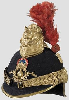 2323: An experimental helmet for French hussar officers : Lot 2323