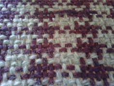 Houndstooth weaving