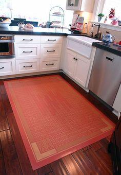 Painted Floor Cloths!