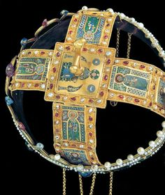The Holy Crown of Hungary (Hungarian: Magyar Szent Korona, Latin: Sacra Corona), also known as the Crown of Saint Stephen, was the coronation crown used by the Kingdom of Hungary for most of its ex…