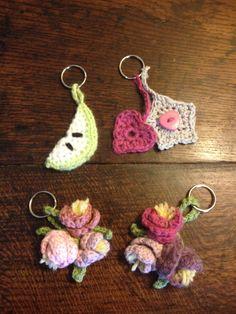 Crochet keyrings