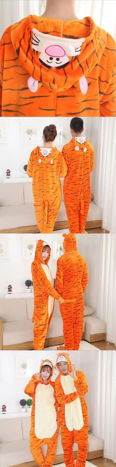 2017 New Fashion Men's Novelty Full Sleeve Character Mens Pajamas Hooded Polyester Pajama Sets Brand Clothing Mens Body Suits
