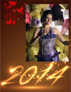 Yasury Vargas Reina de Calle Abajo celebrando el #AñoNuevo 2009.
