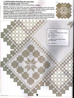 Ponto Reto & Hardanger Nº56 - nilza helena santiago santos - Picasa Albums Web