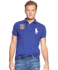 Polo Ralph Lauren Big and Tall Short Sleeve Mesh Polo