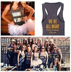 We've combined our love for wedding season and all things Beyoncé for Kristin's Bachelorette Party! Let us help make your special day more memorable with all personlized bridal needs! http://www.marktsolutions.com/request-a-quote