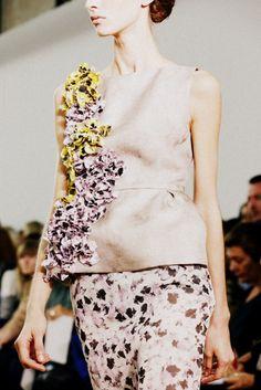 Giambattista Valli SS14, París Fashion Week.