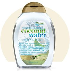 Ogx Weightless Hydration Coconut Water Shampoo 13 oz $6.29  Visit BarberSalon.com One stop shopping for Professional Barber Supplies, Salon Supplies, Hair & Wigs, Professional Products, Nail Supplies. GUARANTEE LOW PRICES!!! #barbersupply #barbersupplies #salonsupply #salonsupplies #beautysupply #beautysupplies #hair #wig #deal #promotion #andis #wahl #oster #clipper #trimmer #blacksolutions #elegance #shavingrazors #ogx