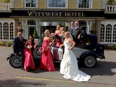 Modern wedding car hire louth for the very best in vintage wedding cars kildare cavan westmeath wedding limousines akp chauffeur drive Wedding Car Hire, Party Bus, Dublin Ireland, Bridesmaid Dresses, Wedding Dresses, Limo, Car Rental, Buses, Vintage