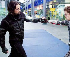 Omg he looks tiny compared to Sebastian<<< Okay, but look at the Spider-Man suit. I don't even know how to describe it