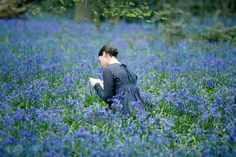 """Abby Cornish in """"Bright Star"""" as Fanny Brawne. My favorite romantic movie...and does it get any more beautiful than this?  I miss real letters."""