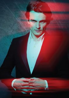Rupert Friend, watching this photo makes me think he would be perfect for another Dorian Gray movie